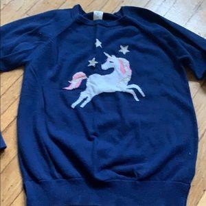 Girls OshKosh unicorn sweater